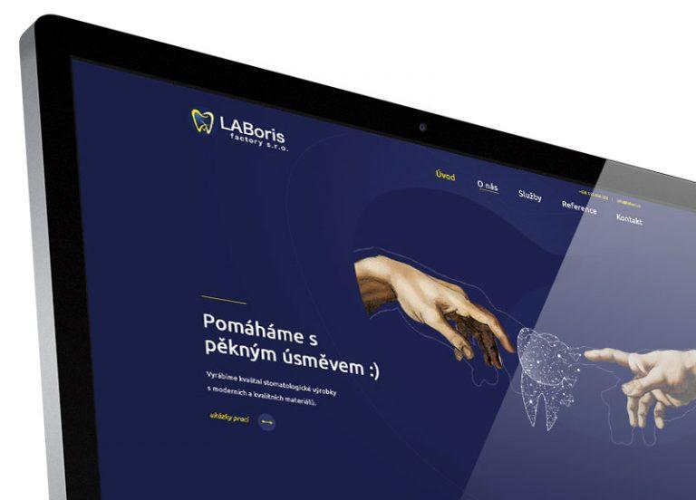 Webové stránky Laboris