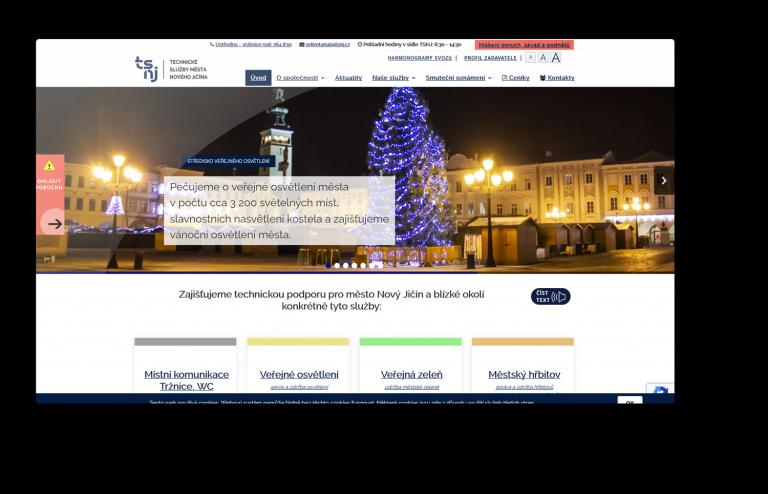 Nový kabátek webu tsnj.cz